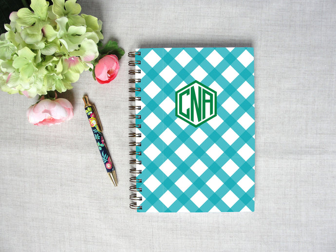 Buffalo Check Spiral Hardback Journal