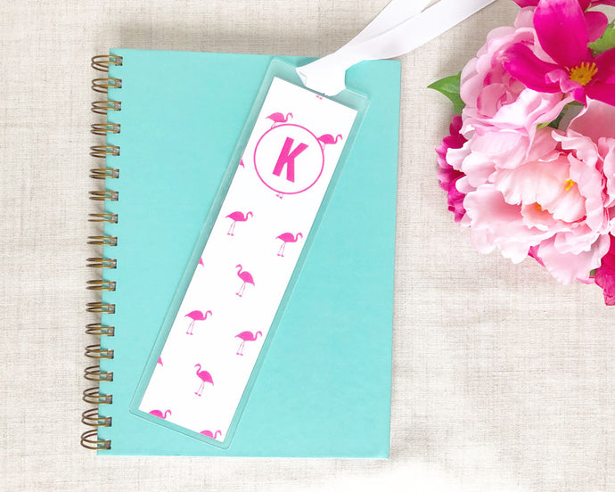Flamingo Laminated Bookmark