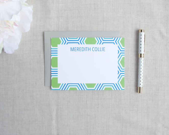 Hexagon Stationery Set | Meredith Collie Paper