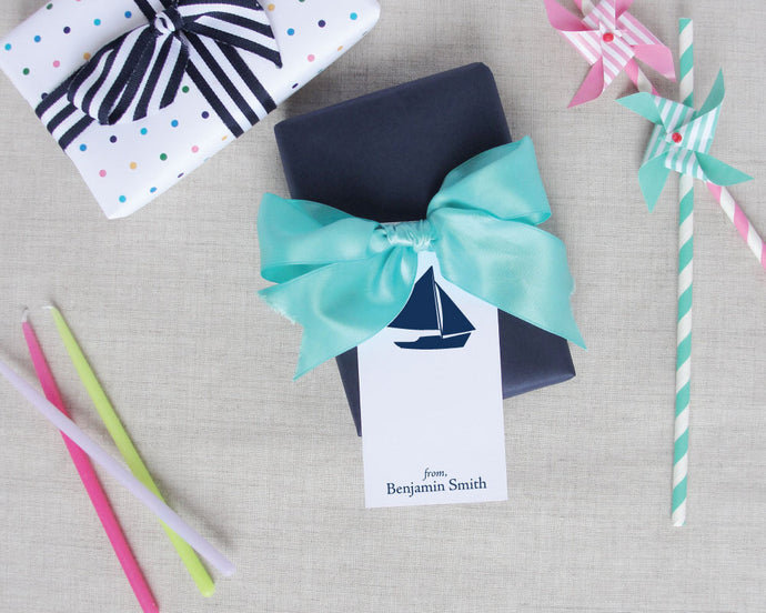 Personalized Nautical Gift Tags | Meredith Collie Paper