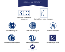 Load image into Gallery viewer, Pattern Monogram Options | Meredith Collie Paper