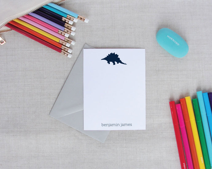 Preppy Dinosaur Stationery Set | Meredith Collie Paper