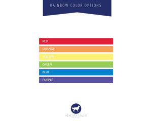 Rainbow Collection Color Options