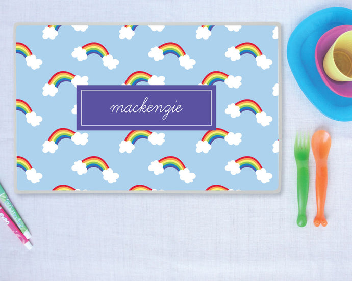 Rainbow Personalize Placemat
