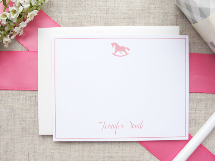 Rocking Horse Stationery | Meredith Collie Paper
