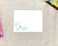 Load image into Gallery viewer, Lucky Girls Personalized Stationery