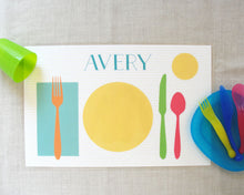 Load image into Gallery viewer, Learn to Set the Table Placemats | Meredith Collie Paper