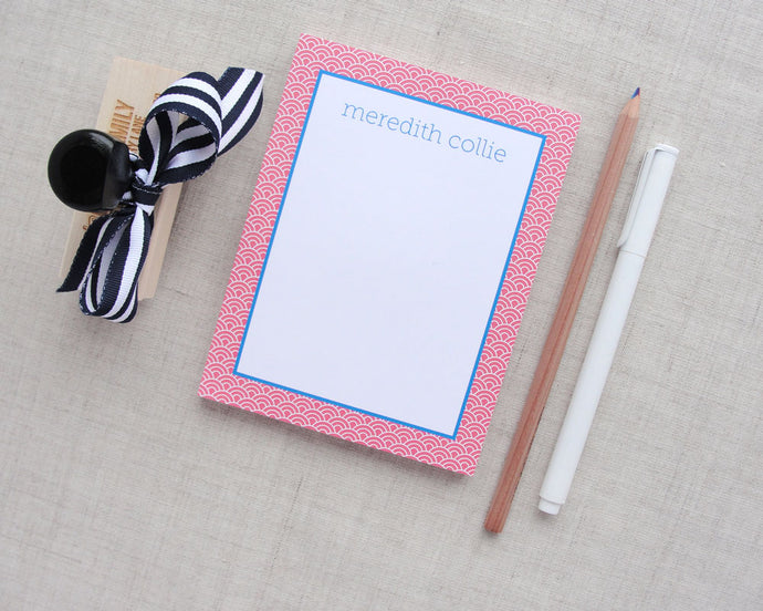Ocean Wave Personalized Notepad
