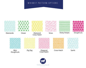 Whimsy Pattern Personalized Children's Stationery