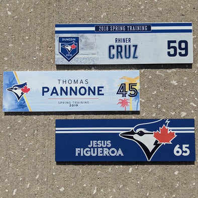 Blue Jays Spring Training U : Locker Tags