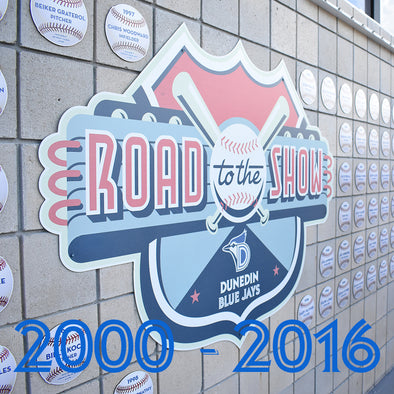 Dunedin Blue Jays U : Road To The Show Plaques (2000-2016)