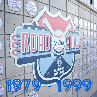 Dunedin Blue Jays U : Road To The Show Plaques (1979-1999)