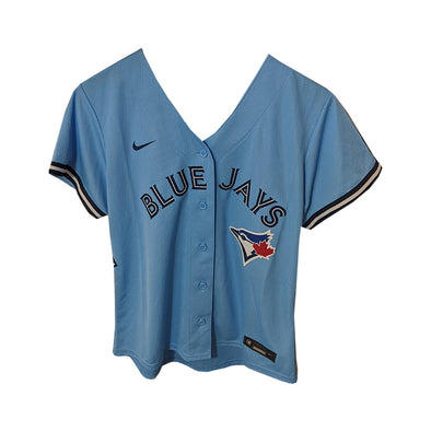 Toronto Blue Jays Women's Nike Official Alternate New Blue Replica Jersey