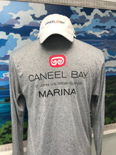 "Load image into Gallery viewer, 50+ UPF Protection Unisex Long Sleeve ""Marina"" T-Shirt"
