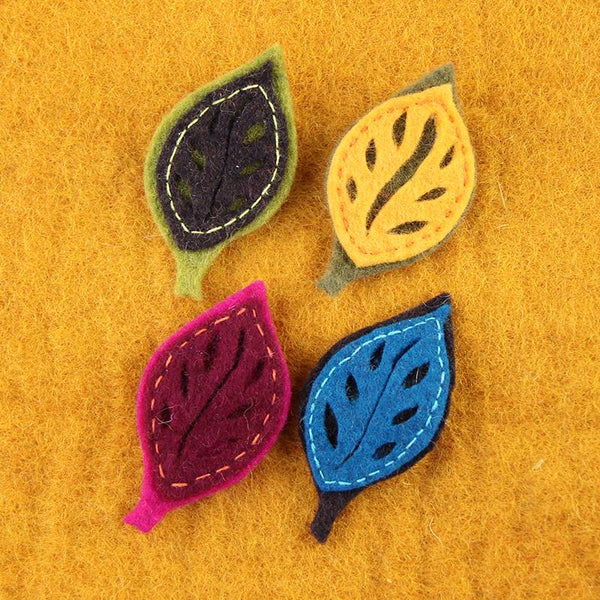 Fibres of Life Brooch Pins