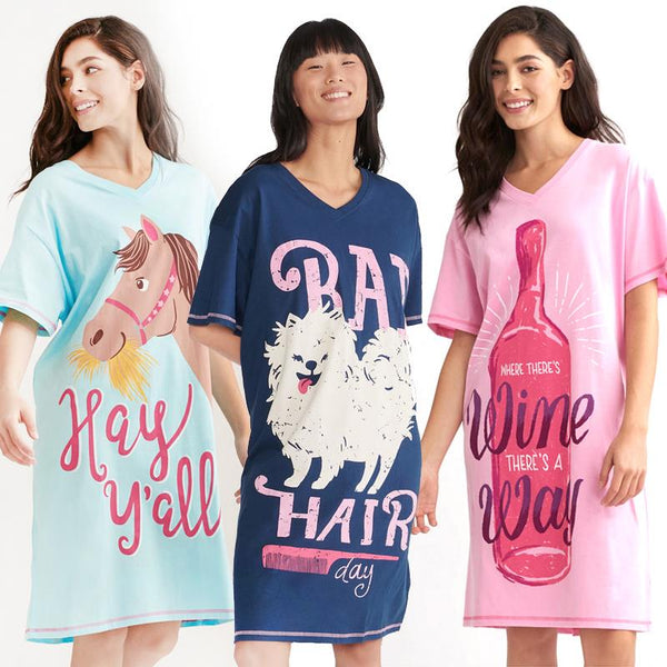 Hatley Sleepshirts Various Sayings