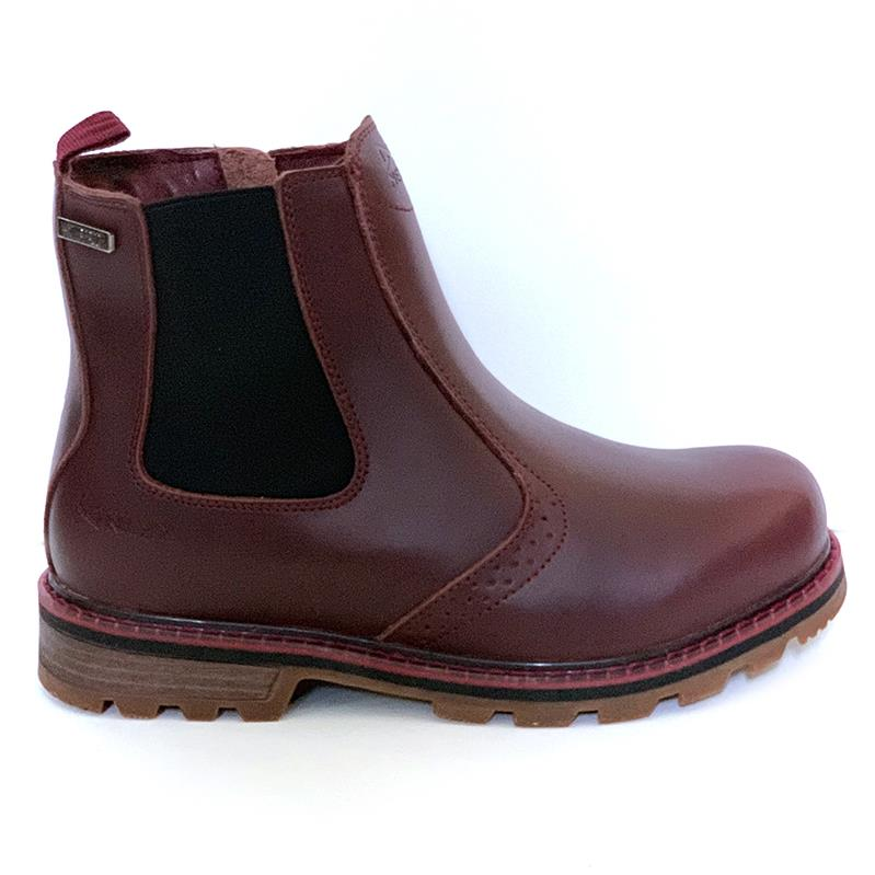NexxGrip Stella Burgundy Leather Boot