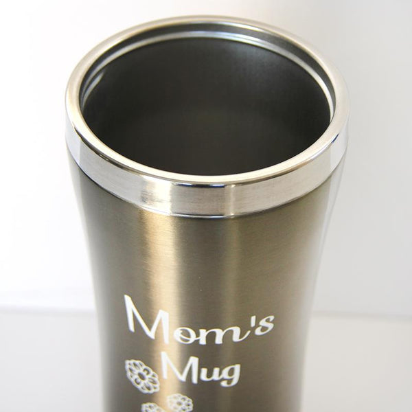 Kopper Silver Travel Mug