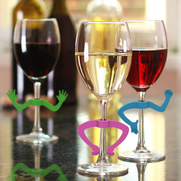 Fred Charades Wine Markers