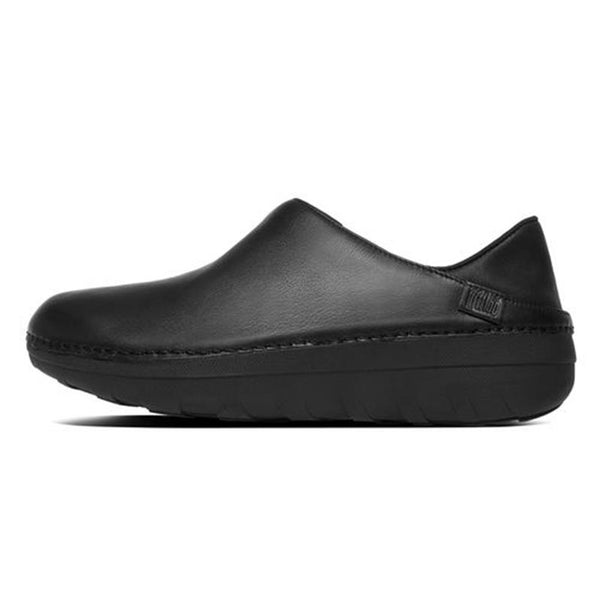 FitFlop SuperLoafer Black Leather