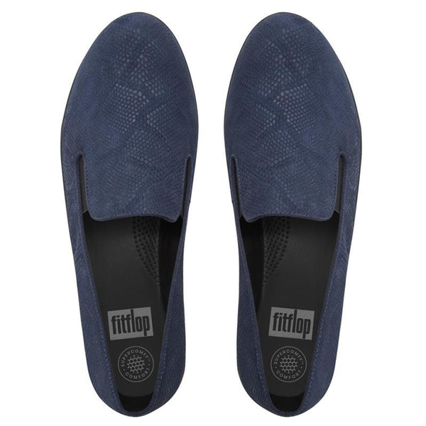 FitFlop SuperSkate Suede Embossed - Navy