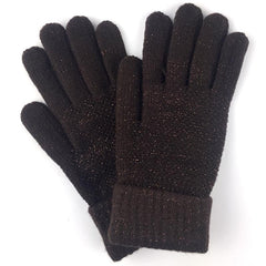 "Britt's ""Shimmer & Chic"" Lurex Stretch Knit Gloves"