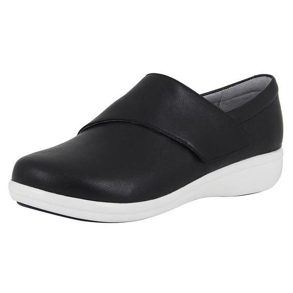 Alegria TRAQ Black Nappa Leather Shoe