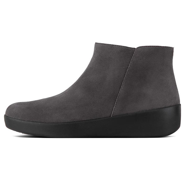FitFlop Sumi Ankle Boot - Steel Grey