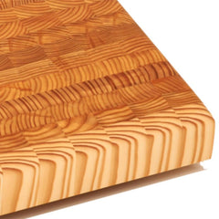 Larch Wood Square Large Cutting Board - $210