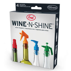 Fred Wine-N-Shine Wine Stoppers