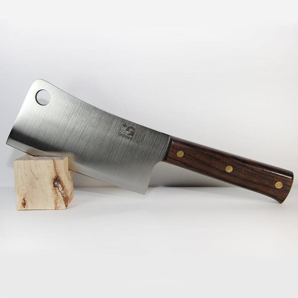 "Grohmann 6"" Chef Cleaver Full Tang"