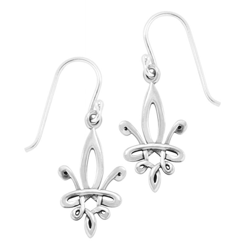 Boudicca Earrings - Fleur De Lis