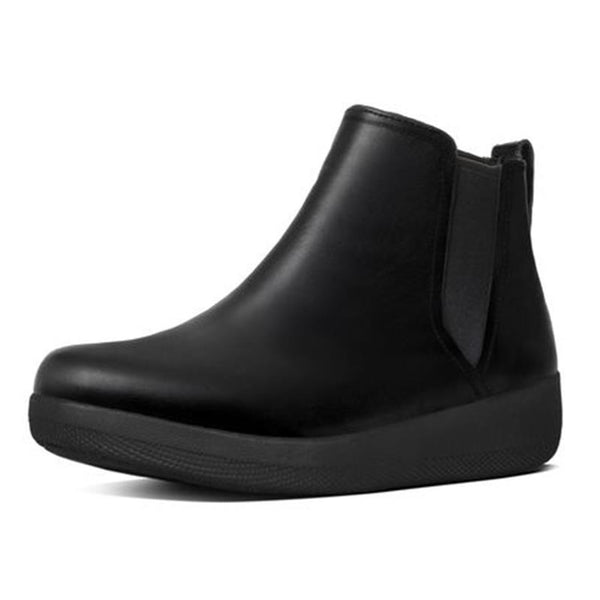 FitFlop Super Chelsea Leather Boots