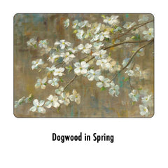 Pimpernel Placemats Dogwood in Spring