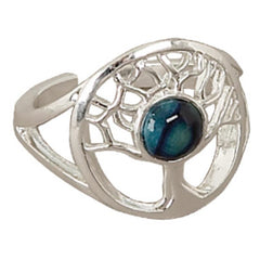 Heathergems Tree of Life Silver Plated Ring HR10