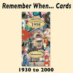 Remember When Fold-Out Cards