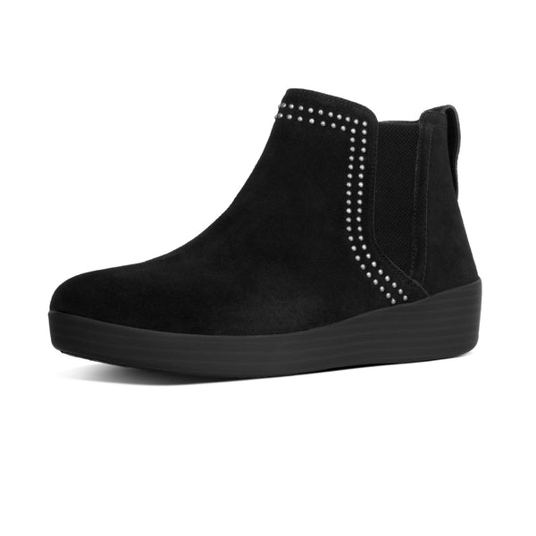 FitFlop SuperChelsea Suede Boot with Studs