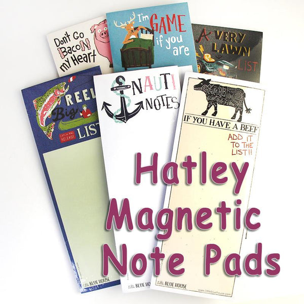 Hatley Magnetic Notepads