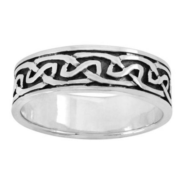 Boudicca Ring - Knot Band