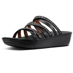 FitFlop Linny Crystal Slide Black