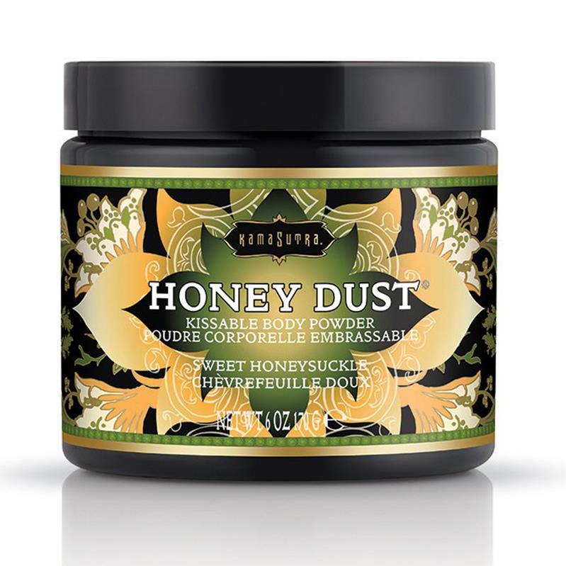 Kama Sutra Honey Dust Body Powder - Honeysuckle