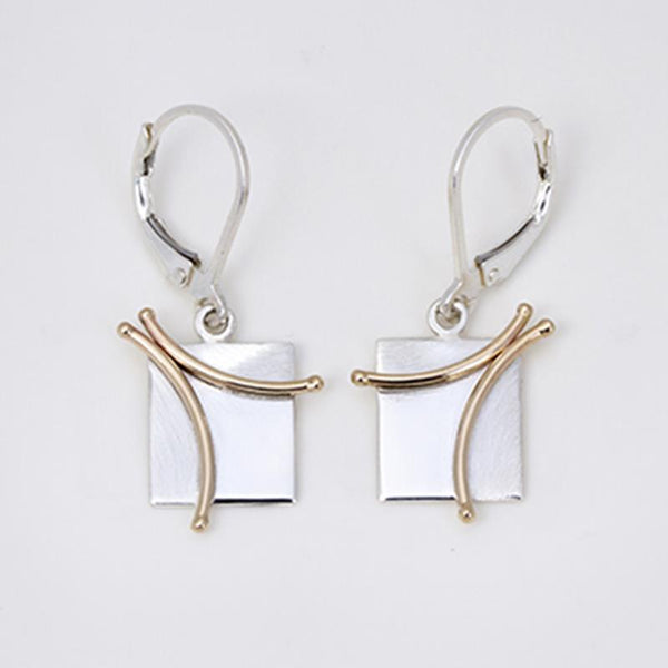 Constantine Designs Branch Drop Earrings