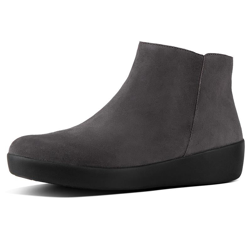 6551784ef FitFlop Sumi Ankle Boot - Steel Grey