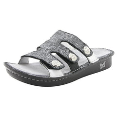 Alegria Venice Chirpy Pewter Sandal