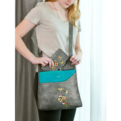 ESPE Messenger Bag Butterfly