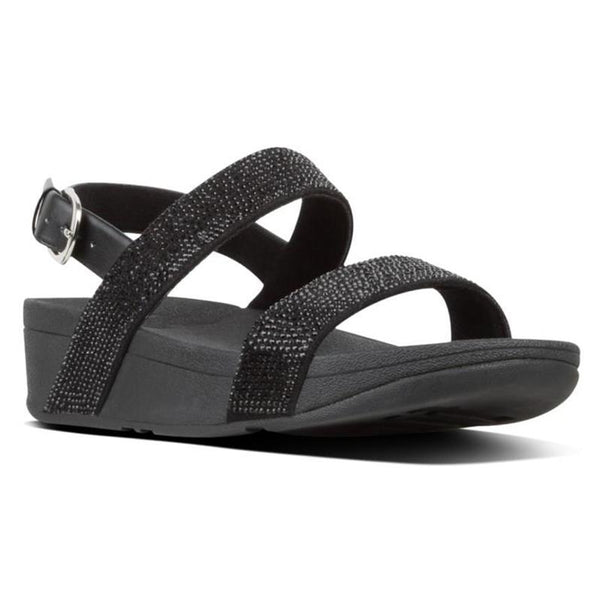 FitFlop Lottie Shimmer Crystal Black