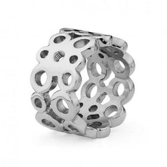 Qudo Ancona Stainless Steel Ring