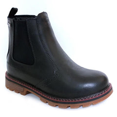 NexxGrip Stella Black Leather Boot