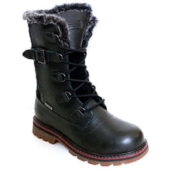NexxGrip Fuji Black Leather Boot