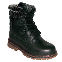 NexxGrip London Black Leather Boot